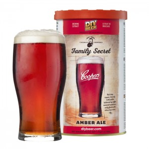 Koncentrat piwo domowe Coopers Family Secret Amber Ale 1,7kg