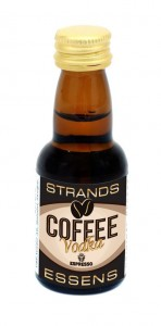 Zaprawka Strands do alkoholu 25ml - COFFE VODKA