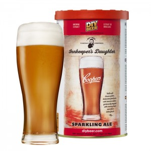 Koncentrat piwo domowe Coopers Innkeeper's Daughter Sparkling Ale 1,7kg